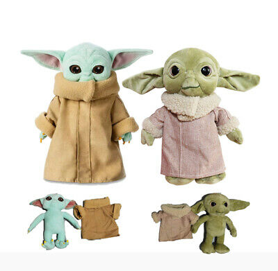 $12.99 • Buy Stars Wars The Mandalorian Baby Yoda Plush Toy Stuffed Doll Cute Xmas Kids Gifts