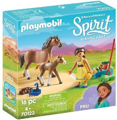Playmobil 70122 DreamWorks Spirit, Pru With Horse And Foal • 16.29£