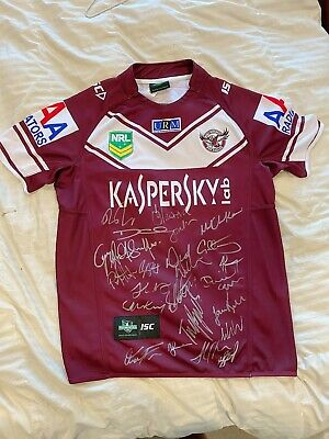 AU210 • Buy 2013 Signed Manly Sea Eagles Jersey