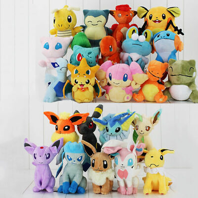 Pokemon Collectible Plush Character Soft Toy Stuffed Doll Teddy Gift • 5.38£