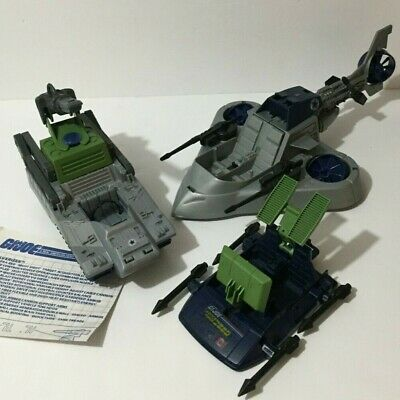 $ CDN60 • Buy Gi Joe Complete Vehicle Lot Vindicator  & Pulverizer Battle Force 2000 Hasbro 19