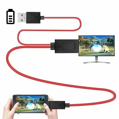 AU19.49 • Buy MHL Micro Usb 2.0 To Hdmi Cable Adapter 1080p Hdtv For Samsung Galaxy S3/S4/S5/N