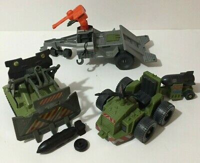 $ CDN55 • Buy Gi Joe Vehicle Lot Road Toad B.r.v Complete, Bomb Disposal Near Complete, Weapon