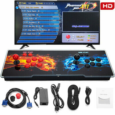 $143.99 • Buy Pandora's Box 12 3188 Games Retro Video Games Double Joystick Arcade Console New