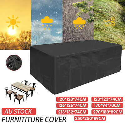 AU29.99 • Buy Waterproof Outdoor Furniture Cover Garden Patio Rain UV Table Protector Sofa