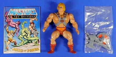 $174.99 • Buy Masters Of The Universe Vintage He-man 1981 Complete W/unused Weapons