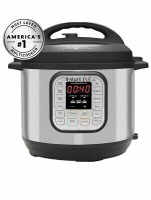 $60 • Buy Instant Pot IP-DUO60 V3 6 Quarts 7-in-1 Multi-Use Programmable Pressure Cooker