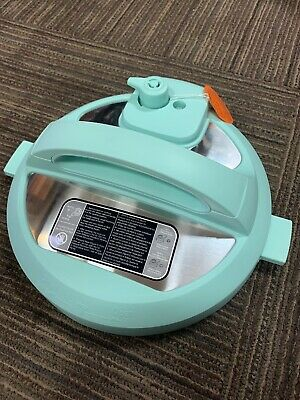 $42.99 • Buy NEW Instant Pot Replacement Lid With Sealing Ring 6QT IP-DUO60 V3 TEAL
