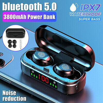 AU29.99 • Buy 🔥 Wireless Earbuds Bluetooth TWS Headphones Touch Control IPX7 Stereo Headset