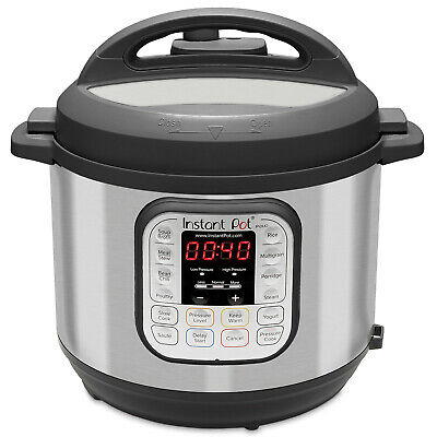 $131.99 • Buy Instant Pot DUO80 8-Quart 7-in-1 Multi-Use Programmable Pressure Cooker