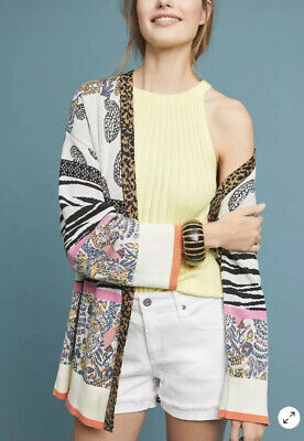 $ CDN106.09 • Buy NEW Anthropologie Bicolage Cardigan Sweater Size XS