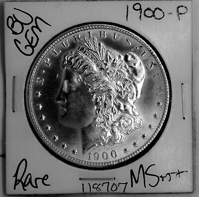$22.50 • Buy 1900 GEM Morgan Silver Dollar #118707 BU MS+++ UNC Coin Free Shipping