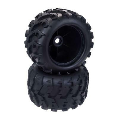 RC Tires Wheels 1/8 Scale Monster Truck Buggy Crawler Tires 2PCS 17mm Hex Drive • 16.07£