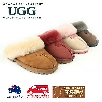 AU44 • Buy Ozwear Ugg Coquette Slipper 5 Colours Ob114