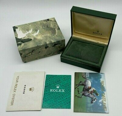 $ CDN116 • Buy Genuine ROLEX Watch Box 11.00.01 Booklet With Instructions #94