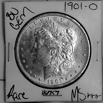 $31.44 • Buy 1901 O GEM Morgan Silver Dollar #118757 BU MS+++ UNC Coin Free Shipping