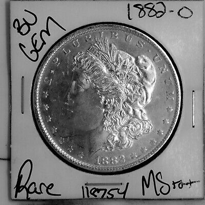$19.50 • Buy 1882 O GEM Morgan Silver Dollar #118754 BU MS+++ UNC Coin Free Shipping