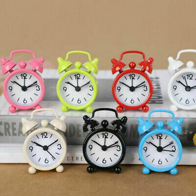 1pcs Traditional Retro Mechanical Mental Double Bell Alarm Clock Bedside Table • 4.89£