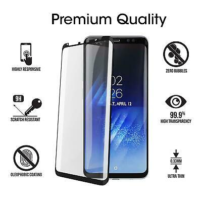 $ CDN3.88 • Buy 2x For Samsung Galaxy S8 Plus Full Cover Tempered Glass Film Screen Protector X2
