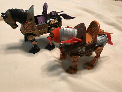 $40 • Buy Mattel He Man MOTU STRIDOR COMPLETE & NIGHT STALKER NEAR COMPLETE