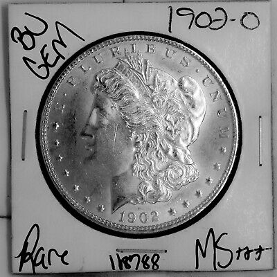 $11.50 • Buy 1902 O GEM Morgan Silver Dollar #118788 BU MS+++ UNC Coin Free Shipping