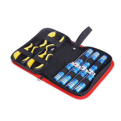 10in 1 Tool Kit With Box For Align 450 Helicopter Plane RC Model Car Repair G3H9 • 17.24£