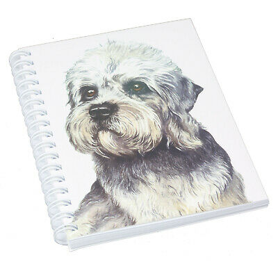 £5.69 • Buy Dandie Dinmont Terrier Dog Spiral Bound Notebook 50 Blank Pages Perfect Gift