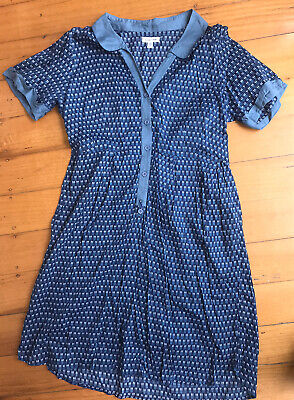 AU11 • Buy Urban Outfitters (Silence + Noise) Cotton Blue Dress, Size 1