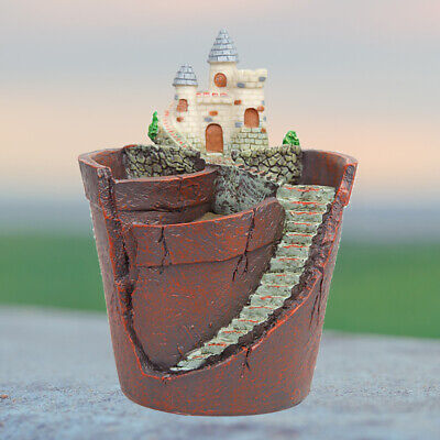 Creative Sky Garden Succulent Plant Herb Flower Basket Planter Pot Trough Box UK • 9.59£