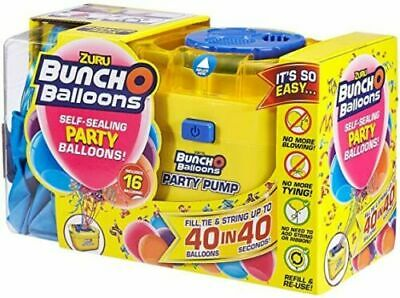 £32.95 • Buy Bunch O Balloons Portable Party Balloon Electric Air Pump Starter Pack Pink Blue