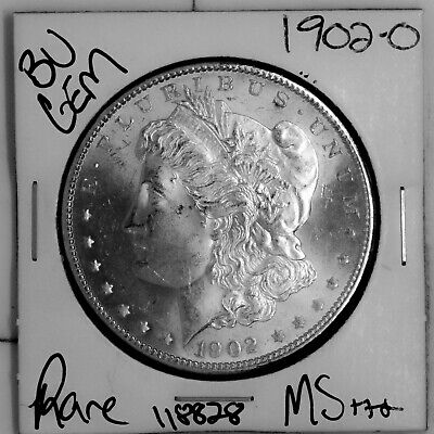 $17.02 • Buy 1902 O GEM Morgan Silver Dollar #118828 BU MS+++ UNC Coin Free Shipping