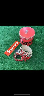$ CDN1130.50 • Buy Supreme Bb Simon Belt S/M Red Authentic With Receipt