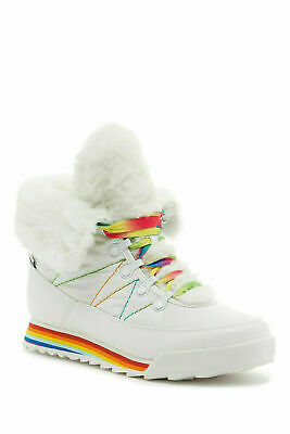 Womens ROCKET DOG ICEE RIVAL CANDY Funky Snow Winter Boots Boots UK 3 36 Lace Up • 0.99£