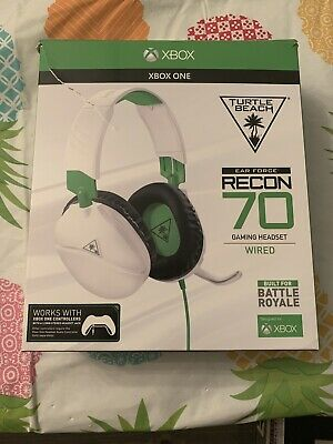 $29.99 • Buy Turtle Beach Recon 70X White Gaming Headset For Xbox One