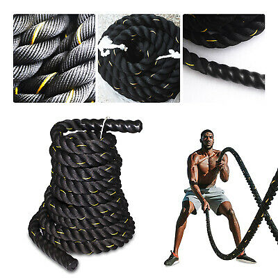 AU58.99 • Buy 9M 15M Heavy Home Gym Battle Rope Battling Strength Training Exercise Fitness  X