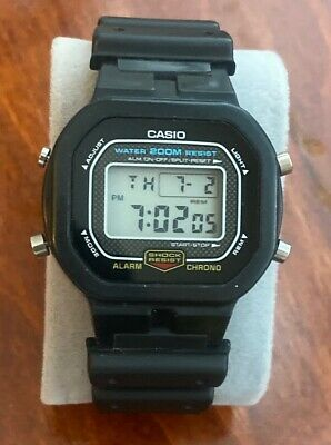 $99.71 • Buy Vintage CASIO 901 DW5300 G-shock Digital Watch Missing Plastic Cover-New Battery