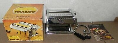 $45 • Buy Marcato Pasta Maker 150 Complete With Box Machine  Manual Noodle Atlas