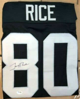 $ CDN125.03 • Buy Jerry Rice Autographed Signed Jersey Beckett Authentication Raiders