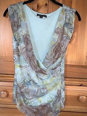 $ CDN1.35 • Buy Anthropologie Weston Wear Womens Summer Sleeveless Low-Cut Top Blouse Medium