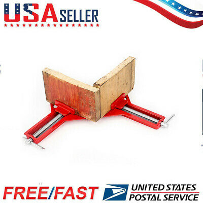 $9.99 • Buy 90°Degree Right Angle Frame Corner Clamp Metal Holder Woodworking Hand Tool USA