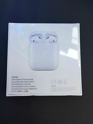 AU179.99 • Buy Apple AirPods 2nd Generation With Charging Case - White