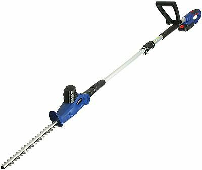 £69.99 • Buy Qualtex Telescopic 20V Cordless Pole Hedge Trimmer Lightweight 5 Position Cutter