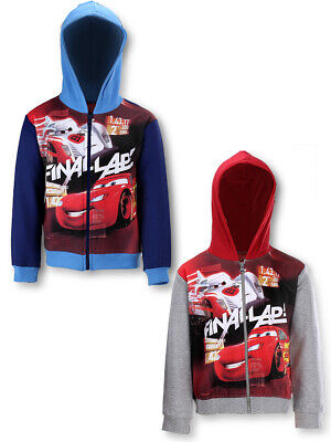 Boys Disney Cars Hoodie Sweatshirt OFFICIAL Merchandising 7-8 Years • 10.99£