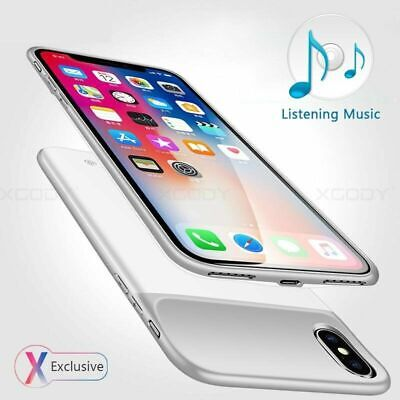 AU38.98 • Buy Ultra-Thin Charger Battery Case Charging Power Case For IPhone X/Xs 11 Pro Max