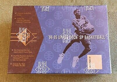 $77 • Buy 1994-95 Upper Deck Sp  Basketball Championship Series Factory Sealed Box