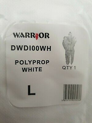 £5.80 • Buy Disposable Overalls Size L Warrior  White Protection/ Paint