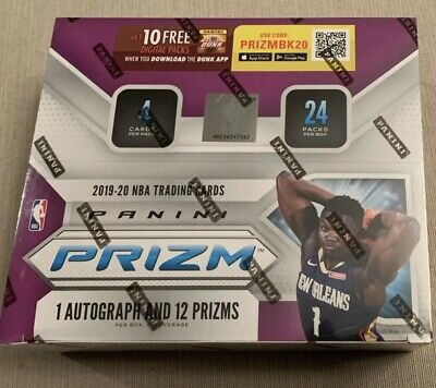 AU41.67 • Buy 2019-20 Panini Prizm NBA Retail Pack From Sealed Box +2 Free Basketball Cards 🔥