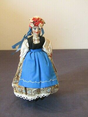 Vintage Collectors Costume Doll By Rexard Hungary. • 5.50£