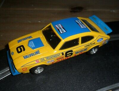 Scalextric Rare Vintage Ford Capri Touring / Rally Car # 6 Superb And Fast • 10.55£