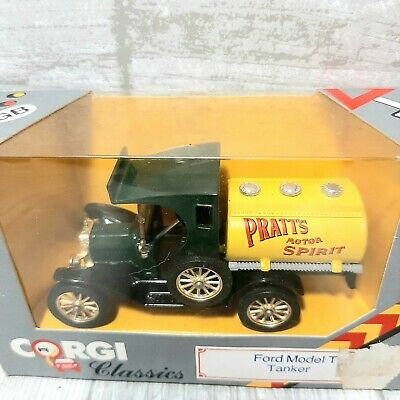 $19.99 • Buy Corgi Classics 1985 Pratt's Ford Model T Tanker Original Box #C864 Green Yellow